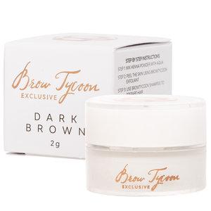 NEW! Browtycoon Exclusive Henna Dark brown